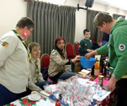 Wincanton Scouts Group Christmas Bazaar 2013