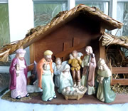 Travelling Nativity Visits Homes Around Wincanton