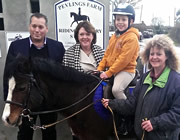 Cabinet Minister visits Henstridge Riding for the Disabled facility