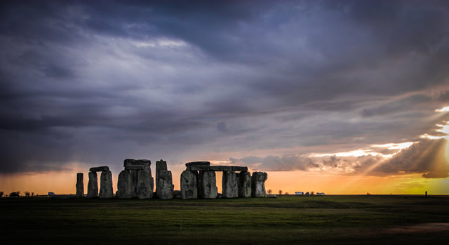 Stone Henge, by Trixie Hiscock