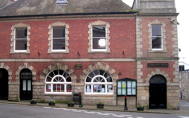 Wincanton Town Hall,Town Council Office and Tourist Information