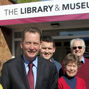 Graham Watson, MEP for the South West, Visits Wincanton