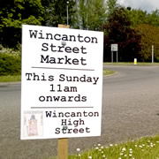 Wincanton Street Market Starts its 2014 Season Sunday 18th May