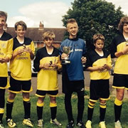 New Team Wins Tournament for Wincanton Town FC (Youth Section)