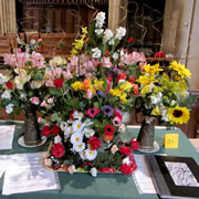 Fantastic Flower Show in the Parish Church