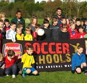 Arsenal Soccer School at Wincanton Sports Ground this Summer