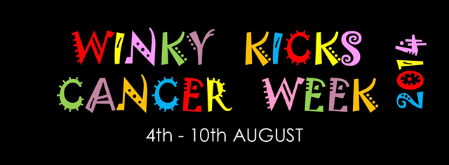 Winky Kicks Cancer week 2014
