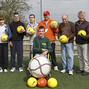 Adult Disability Football Sessions Continue at Wincanton Sports Ground