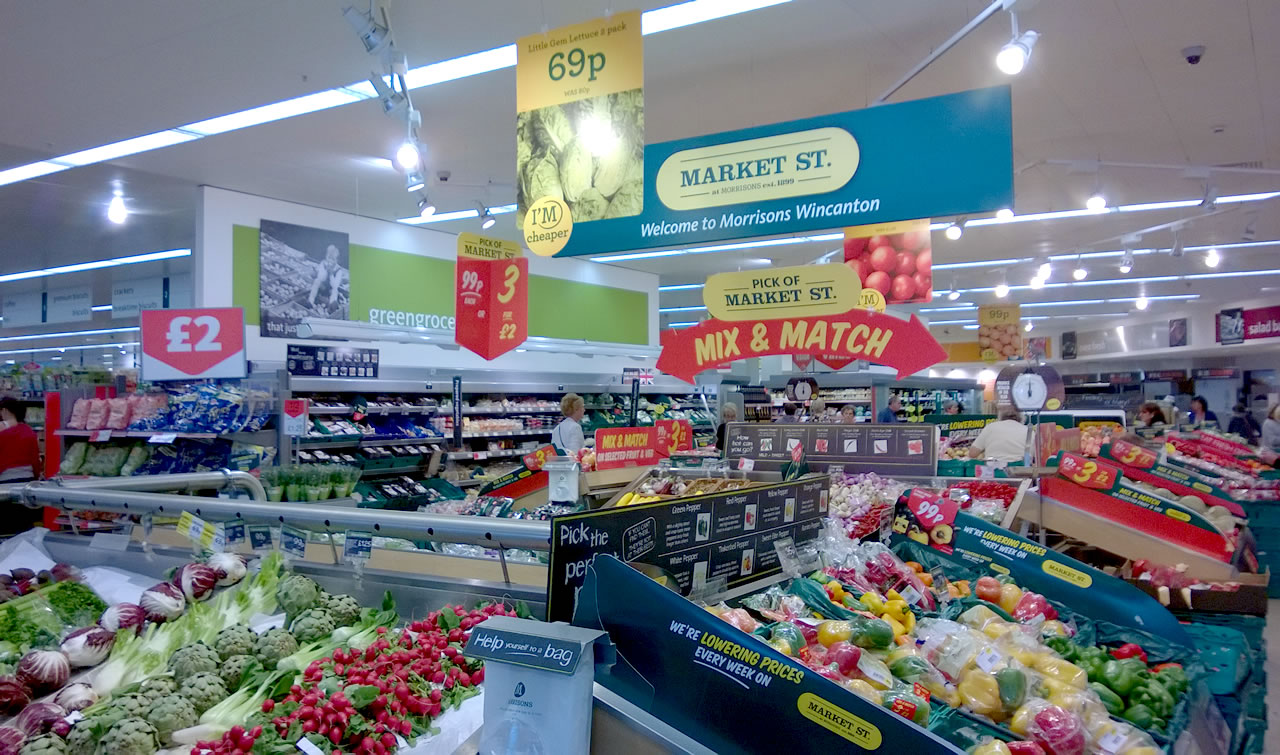 the history of morrisons