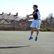 Tennis Marathon on Sunday in Support of Court Resurfacing