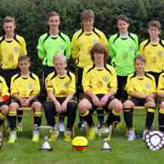 Wincanton Town FC Under 14s Win in New Kit