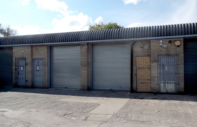 The industrial unit in Wincanton that was raided for drugs
