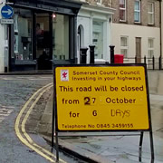 South Street, Wincanton, to Close for Six Days