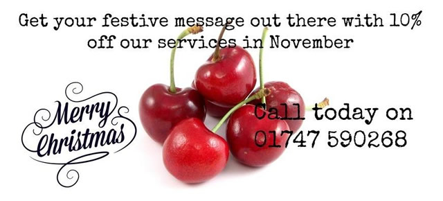 Cherry Pip Marketing 10% discount during November 2014