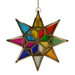 Moroccan Multi-Coloured Star Lantern from Myakka  £29.95 - but only £26.66 with 11% discount