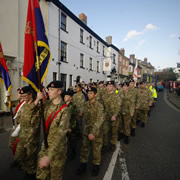 Remembrance Parade 2014 – Wincanton Pays Tribute <small style='color: red;'>VIDEO</small>
