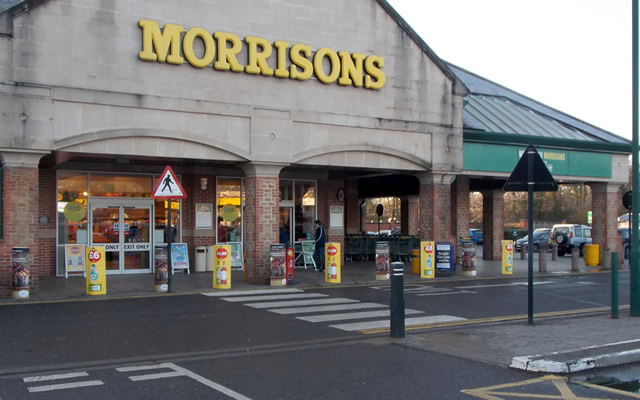 Morrisons Wincanton front entrance