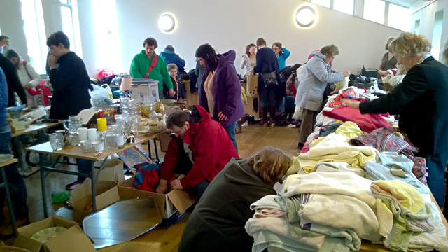 C.A.T.C.H. jumble sale of February 2014