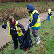 C.A.T.C.H. Litter Pick Along the River Cale – Sunday 1st March 2015