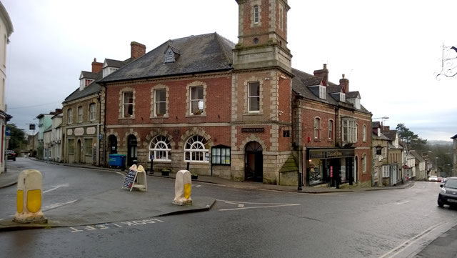 Wincanton Town Hall, South Street and Church Street
