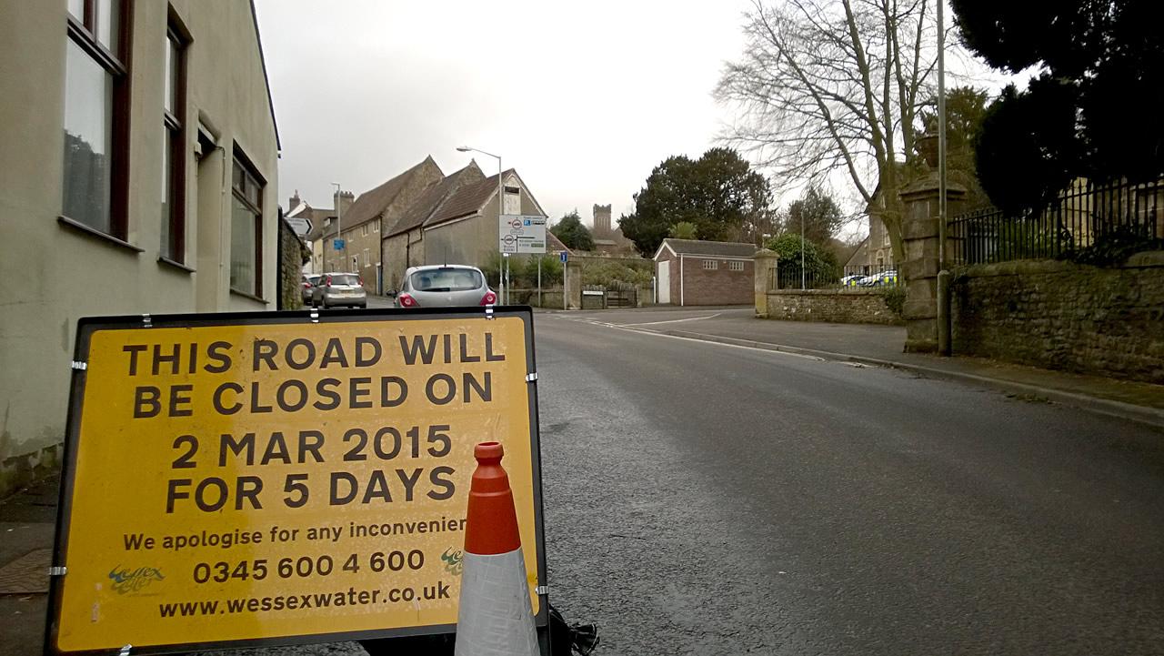 Church Street Closure Amp Road Works Urgent Notice
