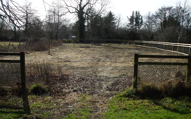 Cale Park wasteland has been prepared for the planting of Memorial Meadow
