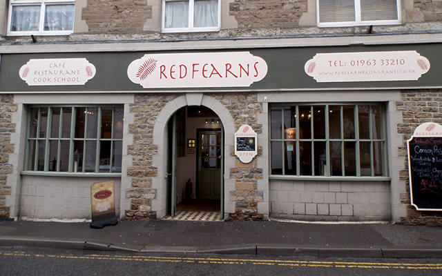 Redfearns, Cafe, Restaurant, Cook School on South Street, Wincanton