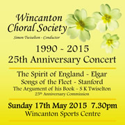 Wincanton Choral Society 25th Anniversary Concert