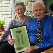Alan & Rosemary Watson Receive Life Membership of History Society