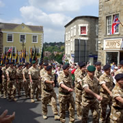 Wincanton Armed Forces Day – Saturday 27th June 2015