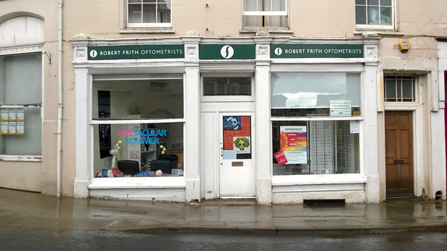Robert Frith Optometrists, Market Place, Wincanton