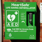 Wincanton's Lifesaving Defibrillator is Ready for Use