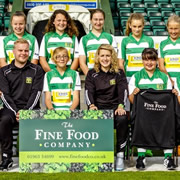 The Fine Food Company Sponsors Yeovil Town Ladies Under 14s
