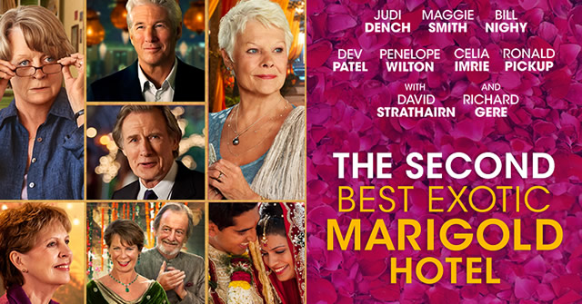 The Second Best Exotic Marigold Hotel' Begins the New WFS Season