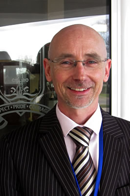 Chris Beech, Head Teacher, King Arthur's Community School, Wincanton