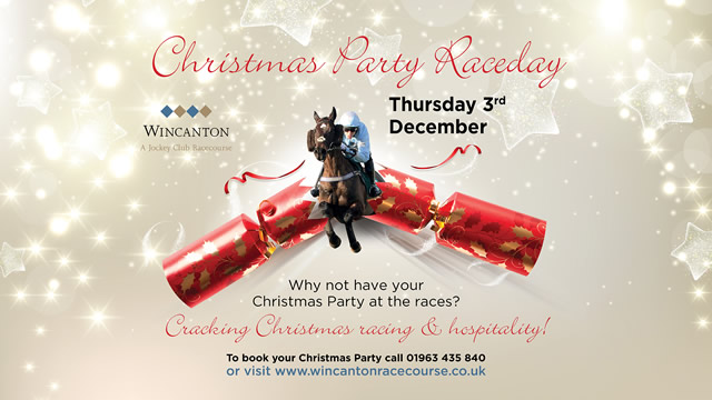 Christmas Party Raceday at Wincanton Racecourse