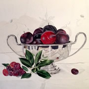 Lucy Jenkins - An Art Exhibition at Divine Wines Throughout December