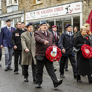 Wincanton Remembrance Parade & Service 2015