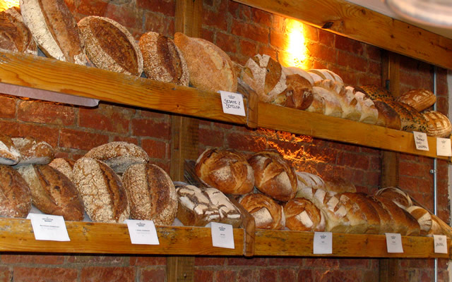 Breads at The Lovington Bakery, Wincanton