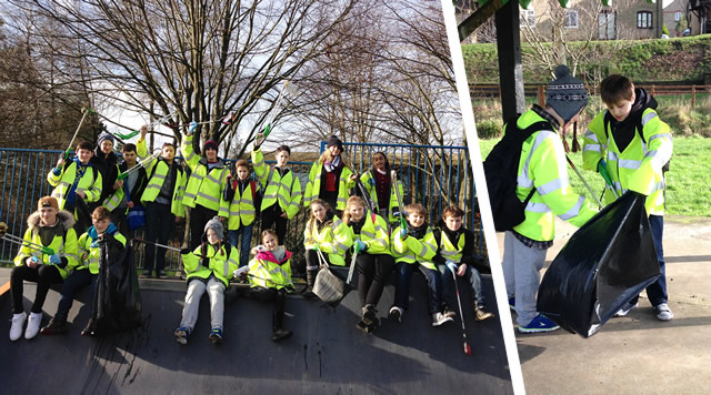 King Arthur's Focus Day litter pickers