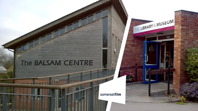 The Balsam Centre and Wincanton Library are the venues for Somerset Film's activities