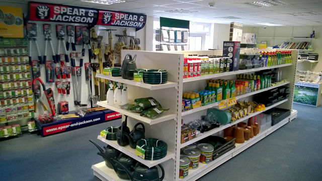 Tools, weed and pest control at The Growing Medium, in Wincanton