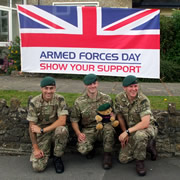 Wincanton Armed Forces Day – Saturday 25th June 2016