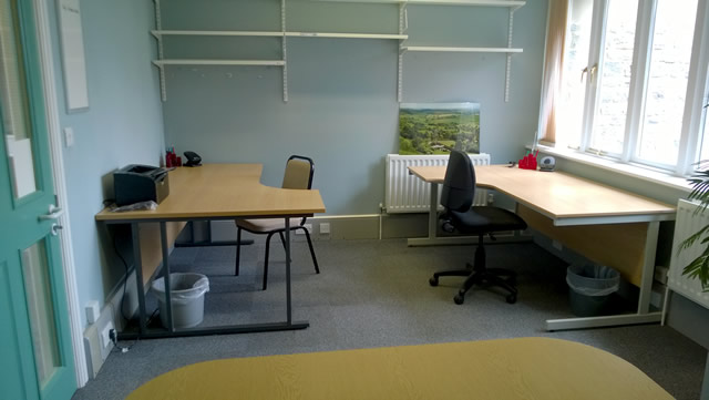 Hot desks in the Lime Room, Churchfields, Wincanton