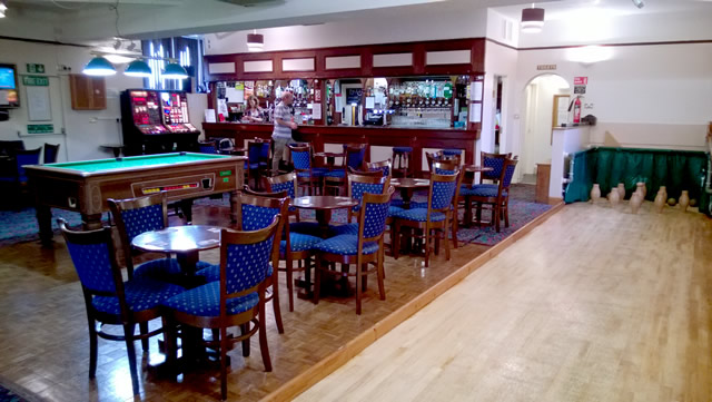Mill Street Social Club, bar, pool table and skittle alley