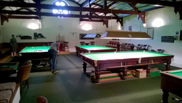 Mill Street Social Club snooker tables