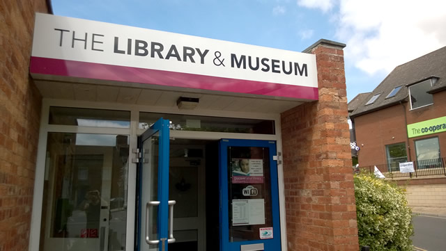 Wincanton Library and Museum entrance