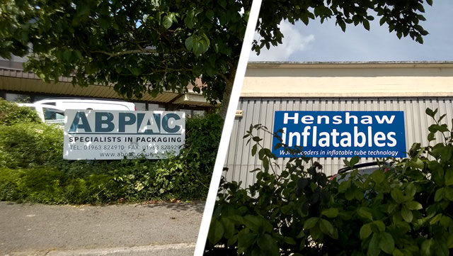 ABPAC and Henshaw Inflatables, Wincanton