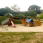 Opening Ceremony for New Cale Park Play Area and Footbridge on 25th August