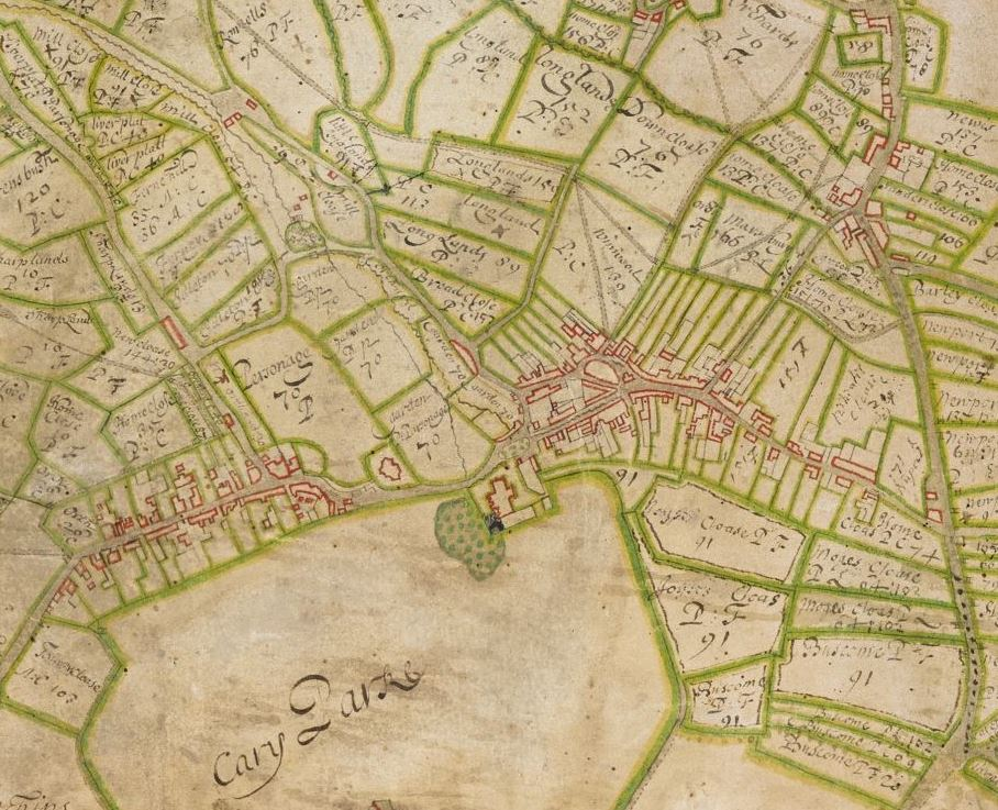TALK:] The Oldest Known Map of Castle Cary and Ansford on